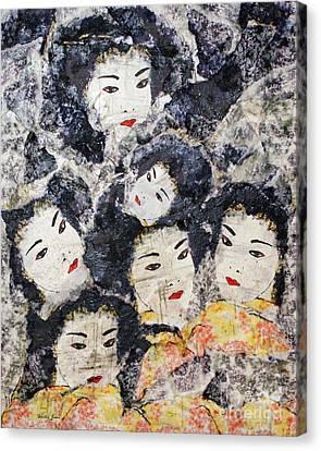 Geisha Canvas Print by Shelley Jones