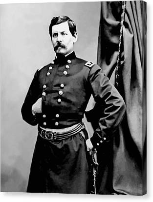 General George Mcclellan Canvas Print by War Is Hell Store