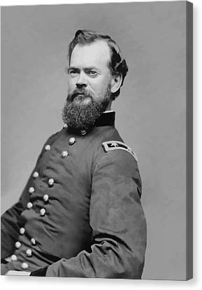 General James Mcpherson  Canvas Print by War Is Hell Store