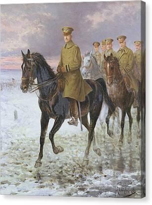 General John J Pershing  Canvas Print by Jan van Chelminski