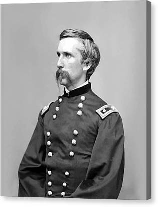 General Joshua Lawrence Chamberlain Canvas Print by War Is Hell Store