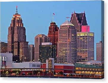 General Motor City Canvas Print by Frozen in Time Fine Art Photography