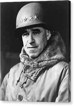 General Omar Bradley Canvas Print by War Is Hell Store