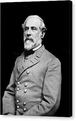 General Robert E Lee - Csa Canvas Print by Paul W Faust -  Impressions of Light