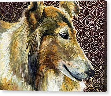 Gentle Spirit - Reveille Viii Canvas Print by Hailey E Herrera
