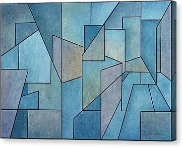 Geometric Abstraction IIi Canvas Print by David Gordon
