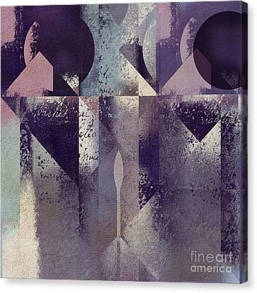 Geomix-04 - C57at22b2e Canvas Print by Variance Collections