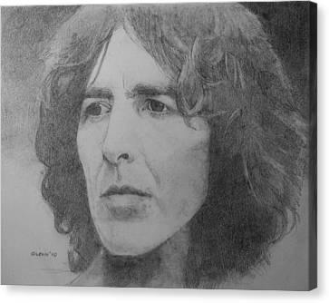George Harrison Canvas Print by Glenn Daniels