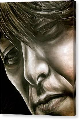 George Harrison Canvas Print by Zach Zwagil