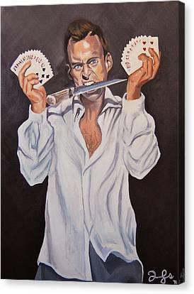 George Oscar Bluth Canvas Print by Emily Jones