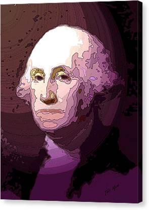 George Washington Canvas Print by Tray Mead
