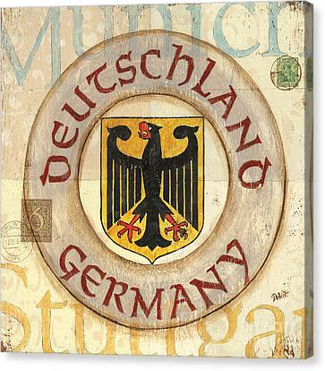 German Coat Of Arms Canvas Print by Debbie DeWitt