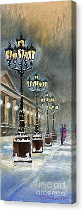 Germany Baden-baden Kurhaus Canvas Print by Yuriy  Shevchuk
