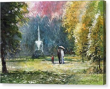Germany Baden-baden Canvas Print by Yuriy  Shevchuk