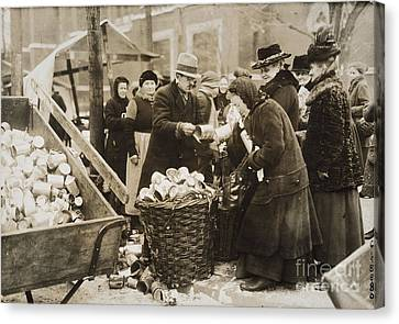 Germany: Inflation, 1923 Canvas Print by Granger