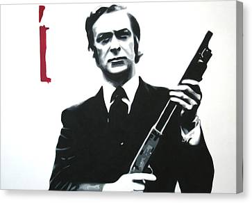 Get Carter 2013 Canvas Print by Luis Ludzska