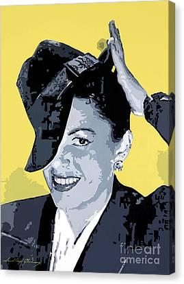 Get Happy Canvas Print by David Lloyd Glover