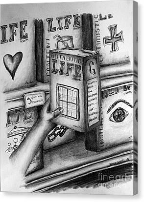 Getting A Life Canvas Print by Tracy Glantz