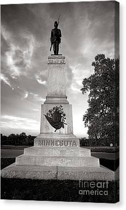 Gettysburg National Park 1st Minnesota Infantry Monument Canvas Print by Olivier Le Queinec
