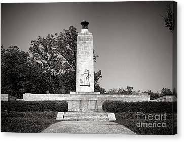 Gettysburg National Park Eternal Light Peace Monument Canvas Print by Olivier Le Queinec