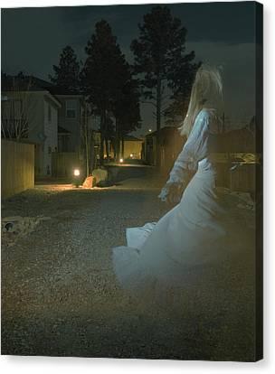 Ghost Dancer Canvas Print by Scott Sawyer