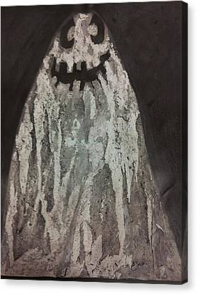 Ghost Canvas Print by William Douglas