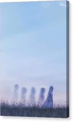 Ghosts Canvas Print by Joana Kruse
