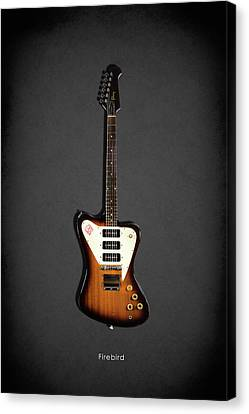 Gibson Firebird 1965 Canvas Print by Mark Rogan