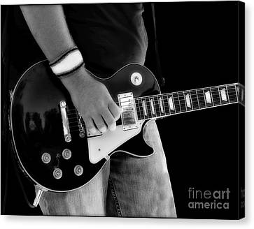 Gibson Les Paul Guitar  Canvas Print by Randy Steele