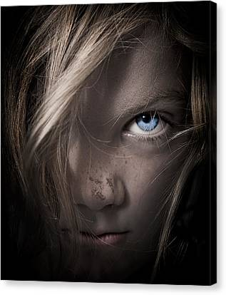 Girl Canvas Print by Paul Neville