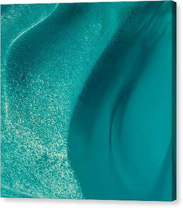 Glacial Remnants Iv Canvas Print by Duane Miller