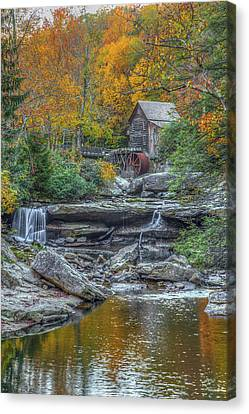 Glade Creek Grist Mill Canvas Print by Tom Weisbrook