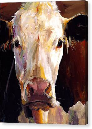 Gladys The Cow Canvas Print by Cari Humphry
