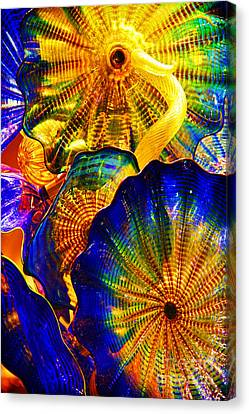 Glass Fantasy Canvas Print by Mariola Bitner