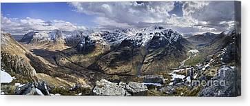 Glencoe - Scotland Canvas Print by Rod McLean