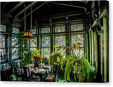 Glensheen Mansion Breakfast Room Canvas Print by Paul Freidlund
