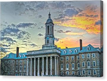 Glory Of Old State Canvas Print by Michael Misciagno