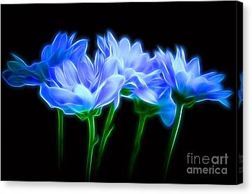 Glowing With Love Canvas Print by Krissy Katsimbras