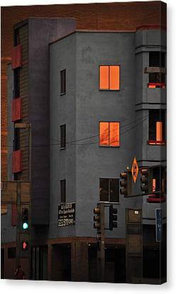 Go Canvas Print by Skip Hunt