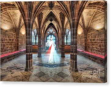 God Hears Our Prayers Canvas Print by Ian Mitchell