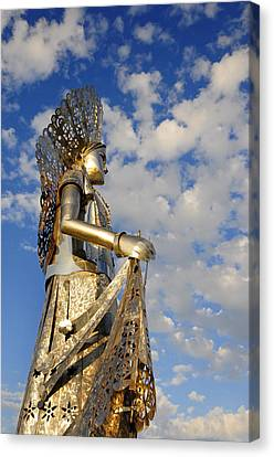 Goddess Isthmus Canvas Print by Skip Hunt