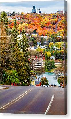 Going Down Canvas Print by Joe Holley