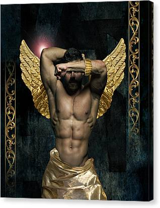 Gold Man  Canvas Print by Mark Ashkenazi