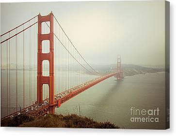 Golden Gate Bridge Canvas Print by Ana V  Ramirez