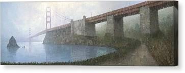 Golden Gate Bridge Canvas Print by Steve Mitchell