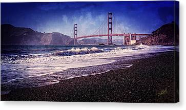 Golden Gate Canvas Print by Everet Regal