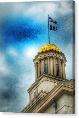 Golden Shine Canvas Print by Jame Hayes