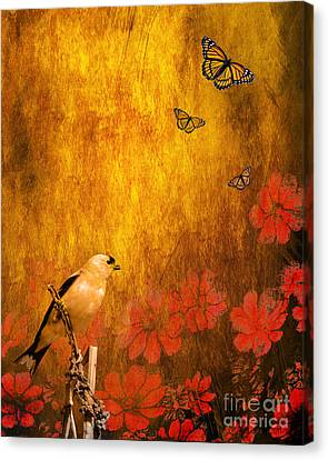 Golden Canvas Print by Wingsdomain Art and Photography