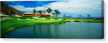 Golf Course At Isla Navadad Resort Canvas Print by Panoramic Images