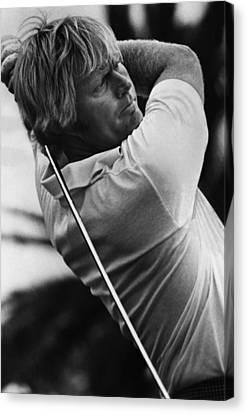 Golf Pro Jack Nicklaus, 1973 Canvas Print by Everett